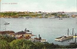 Canada - Le Port De Quebec - Montreal Co. Publishing - Carte N° 2009 Non Circulée - Québec - La Cité