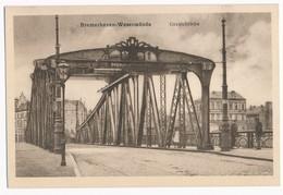 Bremerhaven - Wesermünde - Geestebrücke, ± 1930. - Bremerhaven