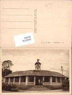 562364,Africa Benin Allada Ardres Les P.T.T. M. Uhr Clock - Ansichtskarten