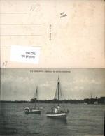 562366,Africa Guinea Conakry Segelboote Fischer Fischen Boot Fischerboot - Ansichtskarten