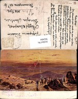 562404,Africa F. Perlberg Jordania Wüste Sahara Karawane Kamele Mittelmeer Serie 8 - Ansichtskarten