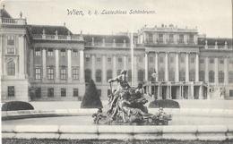 Wien, K.K. Lustschloss Schönbrunn, Brunnen (fontaine) - Carte Non Circulée - Château De Schönbrunn