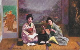 Japon: Japanese At Home, A Five O'clock Tea - Raphael Tuck & Sons, Carte Oilette Non Circulée - Asie