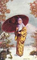 Japon: Japanese At Home, Winter Time - Raphael Tuck & Sons, Carte Oilette Non Circulée - Asie