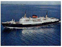 (100) Norway - Ferry Ship - Prinsesse Margrethe - Traghetti