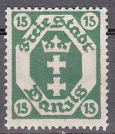 DANZIG   SCOTT NO. 65     MINT HINGED     YEAR 1921   WMK 108 - Danzig