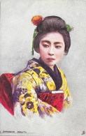 Japon: Japanese At Home, A Japanese Beauty (Geisha) - Raphael Tuck & Sons, Carte Oilette Non Circulée - Asie