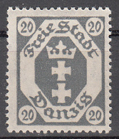 DANZIG   SCOTT NO. 66     MINT HINGED     YEAR 1921   WMK 108 - Danzig