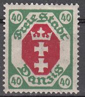 DANZIG   SCOTT NO. 69     MINT HINGED     YEAR 1921   WMK 108 - Danzig