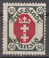 DANZIG   SCOTT NO. 70    MINT HINGED     YEAR 1921   WMK 108 - Danzig
