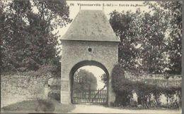 3801 CPA Vinnemerville - Entrée Du Manoir - Francia