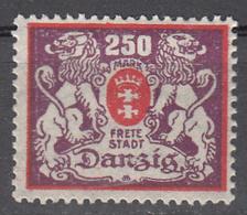 DANZIG   SCOTT NO. 117     MINT HINGED     YEAR 1923 - Danzig