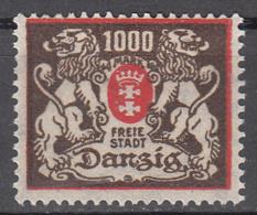 DANZIG   SCOTT NO. 120     MINT HINGED     YEAR 1923 - Danzig