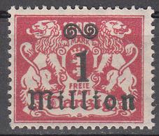 DANZIG   SCOTT NO. 144     MINT HINGED     YEAR 1923 - Danzig