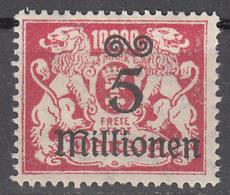 DANZIG   SCOTT NO. 147     MINT HINGED     YEAR 1923 - Danzig