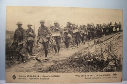 DANS LA  SOMME  - Offensive Anglaise  - MILITARIA - Weltkrieg 1914-18