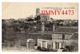 CPA - Vue Générale Vers L' Eglise Prise Au Sud - CHAMPTOCEAUX 49 Maine Et Loire - N° 37 - Coll. F. Chapeau - Champtoceaux
