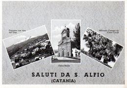 SANT' ALFIO - SALUTI - CATANIA - NON VIAGGIATA - Catania