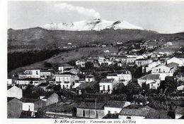 SANT' ALFIO - PANORAMA CON VISTA DELL' ETNA - CATANIA - NON VIAGGIATA - Catania