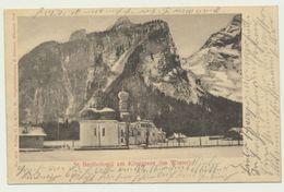 AK  St. Bartholomä Am Königssee Bei Berchtesgaden Im Winter 1902 - Berchtesgaden
