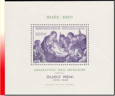 "Rwanda BL 032**  Noel ""Adoration Des Mages""  MNH - Rwanda"