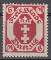 DANZIG   SCOTT NO. 90    MINT HINGED     YEAR 1922    WMK 108 - Danzig
