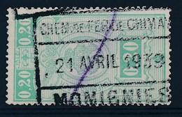 "TR 138 - ""CHEM. DE FER DE CHIMAY - MOMIGNIES"" - (ref. LVS-20.645) - Chemins De Fer"