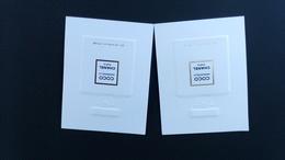 Chanel COCO Madmoiselle Parfum Billet Lot De 2 - Perfume Cards