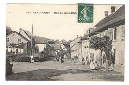 90 TERRITOIRE DE BELFORT - BEAUCOURT Rue De Saint-Dizier - Beaucourt