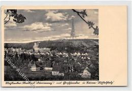 39102984 - Muehlacker, Stadtteil Duerrmenz Mit Grosssender Und Ruine Loeffelstelz Gelaufen. Ecken Mit Albumabdruecken, - Karlsruhe