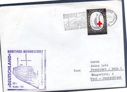 1964 Bodensee-Motorschiff Deutschland, Linda (305) - 1961-70 Covers