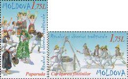 Moldova Moldawien 2013 MNH ** Mi. Nr. 836-837 - Moldavië