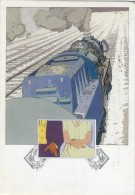 RENARD SCHUITEN  Serie EXPRESS (1981) I  Locomotive - Illustratori & Fotografie