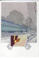 RENARD SCHUITEN  Serie EXPRESS (1981) III  Railway Cars - Illustratori & Fotografie