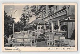 39107754 - Guestrow. Kurhaus-Terrasse Gelaufen Kleiner Knick Unten Rechts, Leichte Stempelspuren, Sonst Gut Erhalten - Deutschland