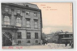 39110204 - Wien. Ballhausplatz Gelaufen 1899. Gute Erhaltung. - Unclassified