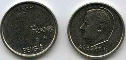 Belgique Belgium 1 Franc 1995 Flamand KM 188 - 02. 1 Franc