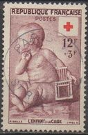 FRANCE   1955    N°1048__OBL VOIR SCAN - France