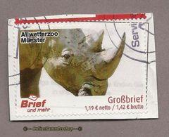 (L13) Privatpost  - Brief Und Mehr - Nashorn (Rhinocerotidae) - Rhinozerosse