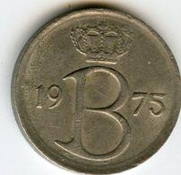 Belgique Belgium 25 Centimes 1975 Flamand KM 154.1 - 02. 25 Centimes