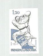 ANDORRA FRA. 1979  NON DENTELE - IMPERFERATE - Judo