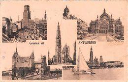 """07531 """"BELGIO - FROETEN UIT ANTWERPEN"""" ANIMATA. CART  SPED - Antwerpen"""