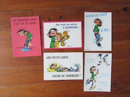 Lot De 5 Cartes  Lagaffe    Gaston - 5 - 99 Postkaarten