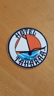 HOTEL TAHARAA ARUE TAHITI STICKER ADHESIF AUTOCOLLANT ANNEES 70 TRES BON ETAT - Autocollants