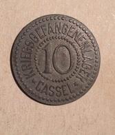 TOKEN JETON GETTONE KRIEGSGEFANGENENLAGER  CASSEL 10 - Monetari/ Di Necessità