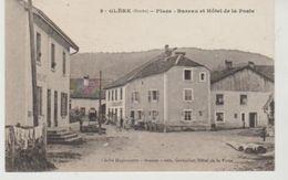 Doubs GLERE Place,Bureau Et Hôtel De La Poste - Autres Communes