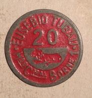TOKEN JETON GETTONE SPAGNA SPAIN  EUSEBIO TUBAU - Monetary/Of Necessity