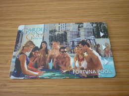U.S.A. Caesars Palace Hotel & Casino Room Key Card (fortuna Pool Woman Femme) - Cartas De Hotels