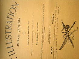 L'ILLUSTRATION N° 3022 Du 26 JANVIER 1901 - L'Illustration