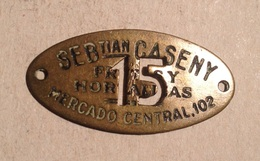 TOKEN JETON GETTONE MERCADO CENTRAL15 - Monetary/Of Necessity